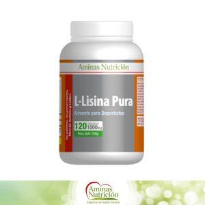 L - Lisina Pura 120 cáps.