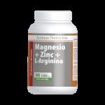 Magnesio + Zinc y L-Arginina 90 cápsulas