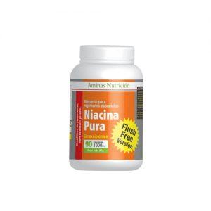 NIACINA PURA 60 CAPSULAS [FLUSH FREE]