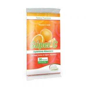 Vitamina C Súper C | Ácido Ascórbico | 10 GRS.